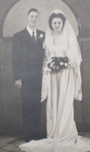 Duane and Minnie's wedding picture cropped