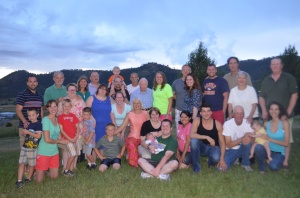 Hubregtse clan July 2013